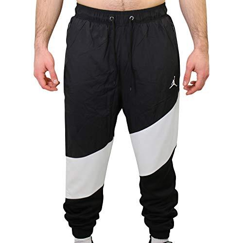 Nike Herren CI7921-010 Hose, Black/White/Black/White, L