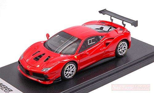 LOOKSMART Modelo A Escala Compatible con Ferrari 488 Challenge Rosso Scuderia 1:43 LS476C