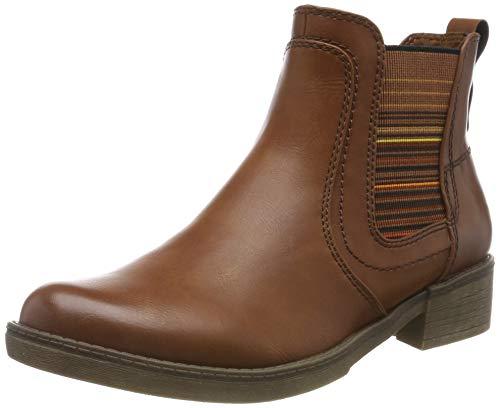 Tamaris Damen 1-1-25012-23 Chelsea Boots, Braun (Cognac 305), 40 EU