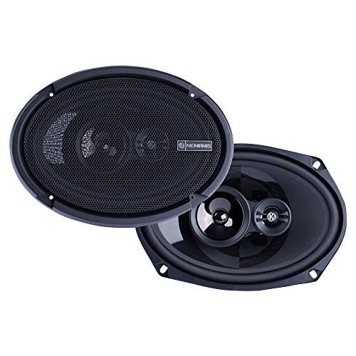 """Memphis Audio PRX6903 6"""" x 9"""" 3-Way Power Reference Coaxial Speakers"""