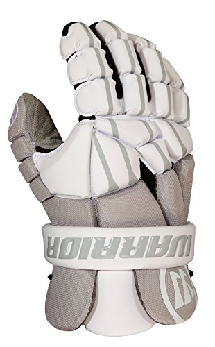 WARRIOR Regulator Lite Lacrosse Glove, Medium/12, Gray/White