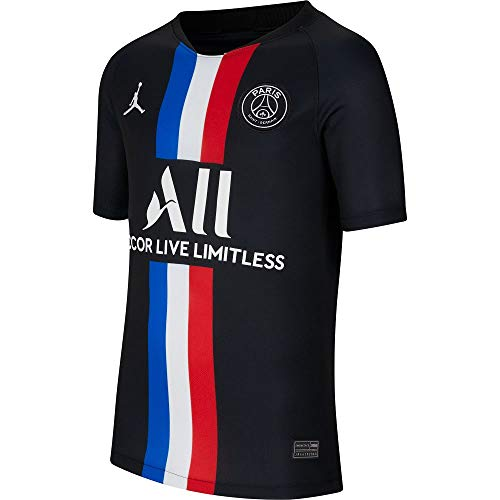 Jordan 2020 PSG Youth Fourth Jersey - Black YXL