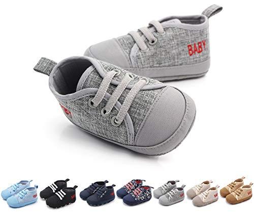 Zapatillas de deporte para bebés zapatos suaves antideslizantes suela de goma mocasines mocasines planos para niños pequeños uniformes de boda zapatos de vestir, color, talla 20 EU