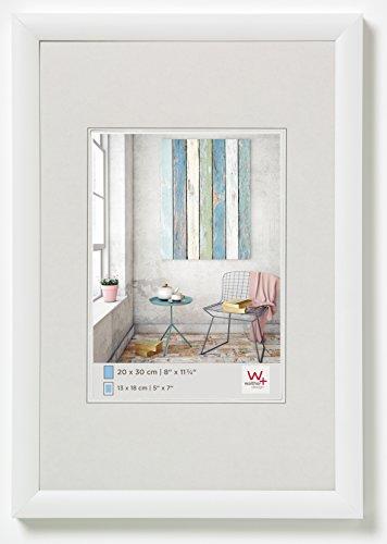 Walther Design KP520W Trendstyle, Cornice Foto in Plastica, 15 x 20 cm, Bianco