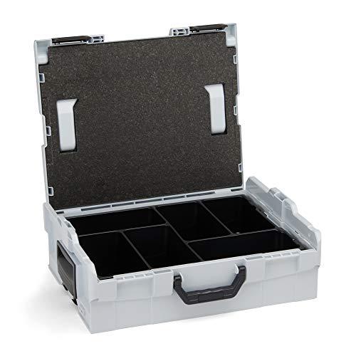 L Boxx, valigetta 136 di Bosch Sortimo per lo stoccaggio ottimale di strumenti da lavoro. Trasporto sicuro e Custodia protettiva con sistema porta attrezzi di L Boxx.