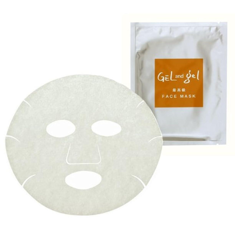 天窓雇用者疎外するゲルアンドゲル 美容液 フェイス マスク 美容 エッセンス マスク (5枚入り)