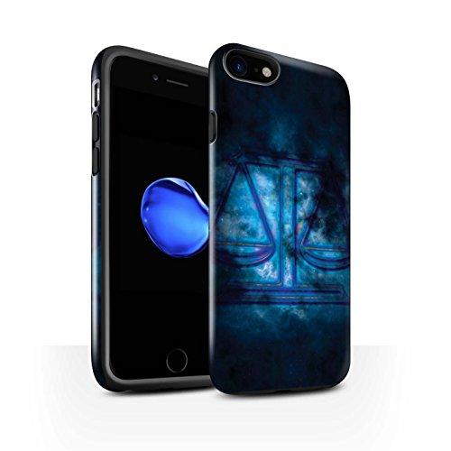 Stuff4 Telefoonhoesje/Cover/Skin/IP-3DTBG / Zodiac Star Sign Collectie Apple iPhone SE 2020 Weegschaal/Weegschaal