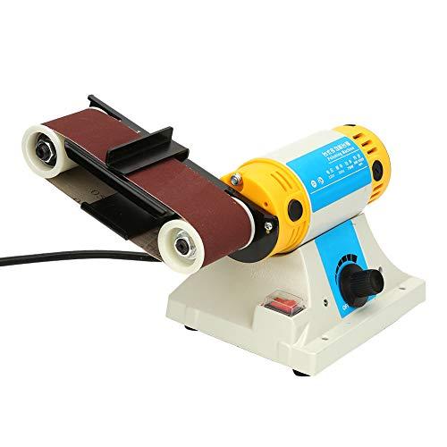 800-10000 U/min Poliermaschine Bandschleifmaschine, verschleißfeste Tischbandschleifmaschine, hohe Qualität zum Polieren
