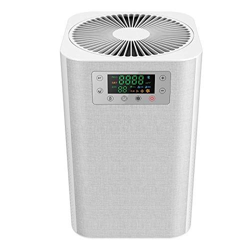 SZHWLKJ Depuratori d'aria for la casa - 3 in 1 Filtro dell'aria, doppia porta USB Tranquillo di ioni negativi purificatore d'aria Con H13 HEPA Filtro for la depurazione dell'aria, della luce UV di ste