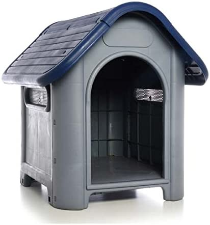 wholesale Plastic Dog House-Blue wholesale 29.13x22.44x25.98 In by sale DollarItemDirect online sale