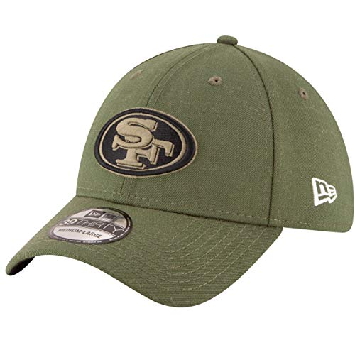 New Era Gorra 39 Thirty NFL 49ers Salute To Service Verde - Verde - L/XL