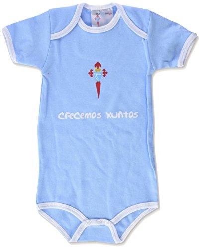 R.C. Celta de Vigo Bodcel Body, Infantil, Multicolor (Blanco/Azul celeste), 18
