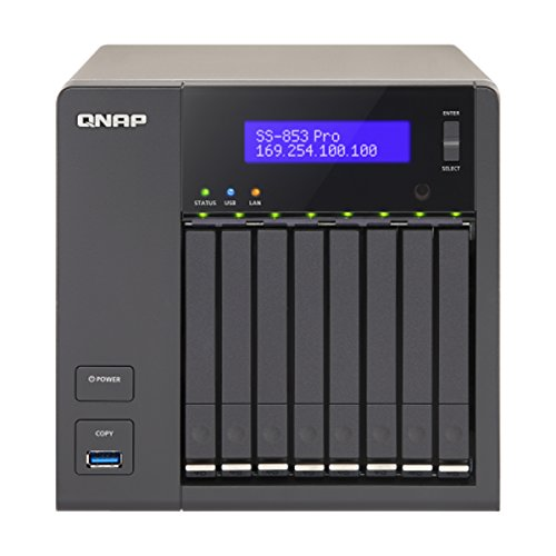 QNAP SS-853 PRO server di memoria dati