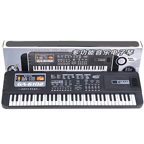 Ysoom piano keyboard, multifunctioneel mini muziek pianotoetsenbord draagbare elektronisch muziekinstrument microfoon voor baby kinderen