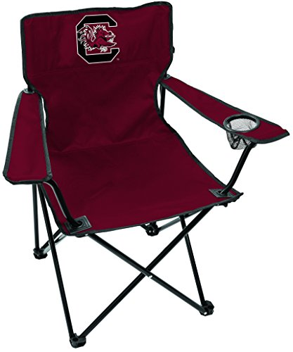 Rawlings NCAA Gameday Elite Lightweight Folding Tailgating Chair, with Carrying Case, University of South Carolina