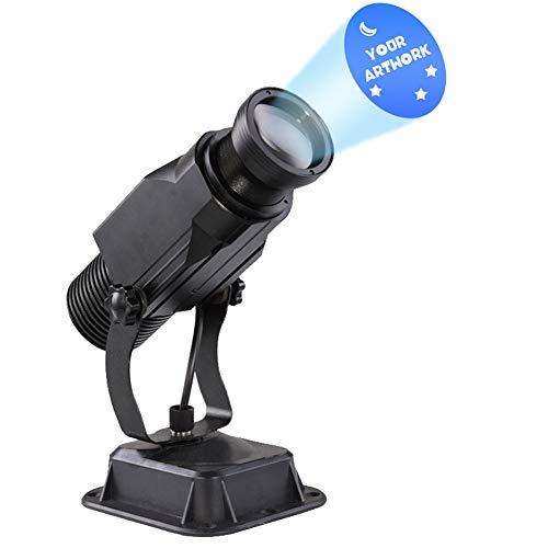 DYJD 15W LED GOBO Projektor Custom Logo Indoor Handbuch Zoom 6-30Ft Für Business-Werbung
