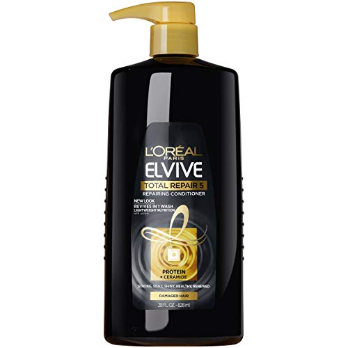 L'Oreal Paris Elvive Total Repair 5 Repairing Conditioner for Damaged Hair Conditioner with Protein...