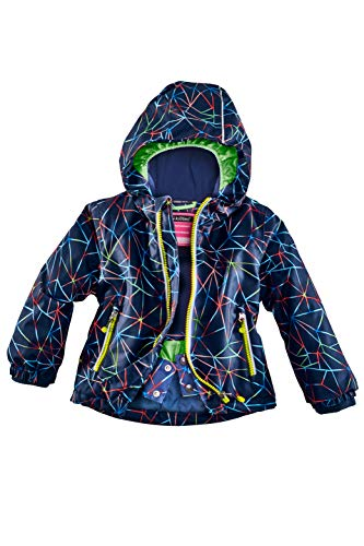 Killtec Kinder Sivany Mini Skijacke, blau, 122/128