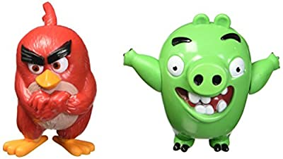 Decopac Angry Birds Red Bird and Bad Piggy DecoSet Cake Decoration