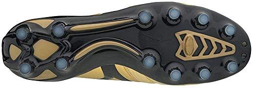 Mizuno Morelia Neo II MD, Scarpe da Ginnastica Basse Uomo, Multicolore (Gold/Black 001), 40.5 EU