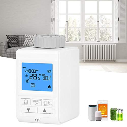 Válvula termostática de grifo inteligente, válvula de disipador de calor, termostato, válvulas de equilibrio dinámico, controlador de temperatura para el(Ordinary paragraph)