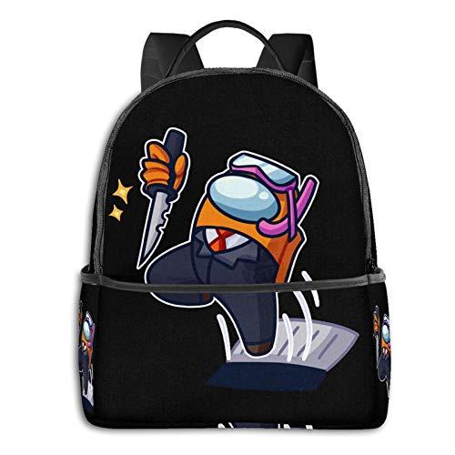 Among Us Impostors Unisex School Bag Outdoor Travel Bags Fashion Backpack