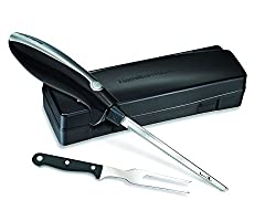 Hamilton Beach Black Electric Knife For Filleting