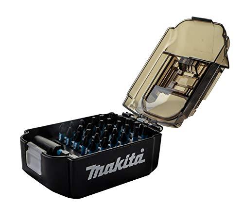 Amazon Exclusive - Makita E-03084 31 Piece Impact Black Set Supplied in a Battery Shape Box