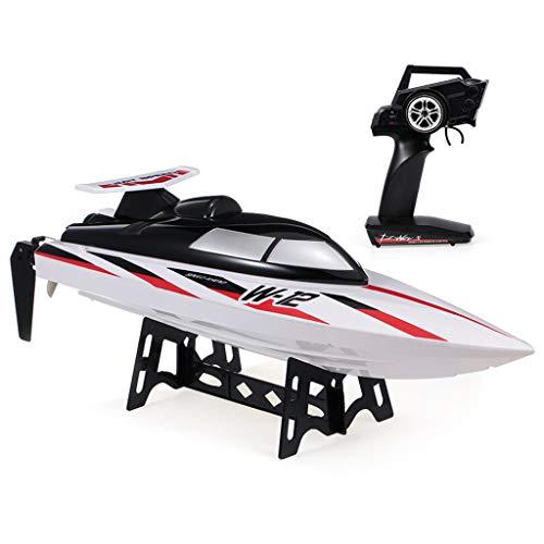 35 Km/H RC Schnell Boot, Rennfernbedienungsboot Für Pools Und Seen, Selbstaufrichtendes Boot Schnellboot 2,4 Ghz Spielzeuggeschenk Für Kinder Und Erwachsene
