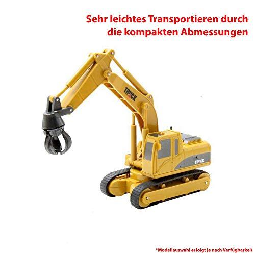 RC Auto kaufen Baufahrzeug Bild 3: HSP Himoto RC Ferngesteuerter Mini Raupenbagger Bagger Truck Baustellen-Fahrzeug, 1:64 Maßstab Modell, eingeb. Akku, Komplett-Set RTR*