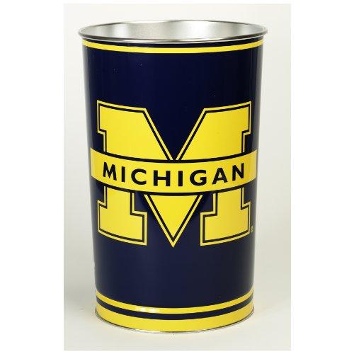 NCAA Michigan Wolverines Wastebasket