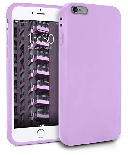 MyGadget Friendly Pocket Custodia TPU per Apple iPhone 6 / 6s - Case Morbida Bordi Rinforzati – Cover Silicone Antiurto e AntiGraffio - Lilla