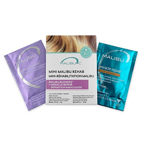 Malibu C Mini Malibu Rehab Malibu Blondes and Miracle Repair Set