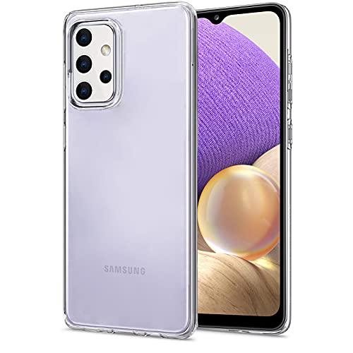 NEW'C Hülle für Samsung Galaxy A32 5G [Ultra transparent Silikon Gel TPU Soft] Cover Hülle Schutzhülle Kratzfeste mit Schock Absorption & Anti Scratch kompatibel Samsung Galaxy A32 5G