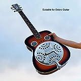 Huairdum Alloy Metal Music Gift Reemplazo de Guitarra Spider Bridge, Accesorio de Guitarra, con Pantallas Soundhole con Cordal para Instrumento de Guitarra resonador