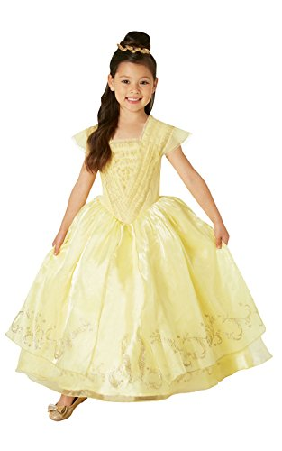 Rubie's kostuum, Belle, Disneys The Mooie en het beest, kinderen Medium, 5-6 Years goud