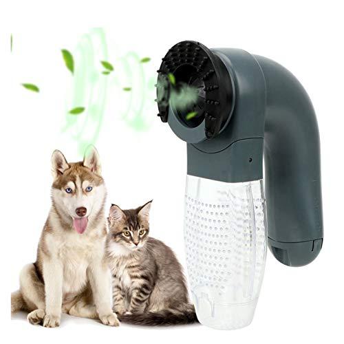 Peine para mascotas Cabello eléctrico para mascotas Limpiador portátil Aspirador de pie Piel Removedor de pelo Cepillo Cat Peine Peine Piño Asequimiento Dispositivo de succión Accesorios para mascotas