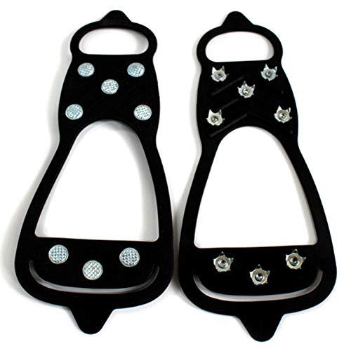 Cucheeky Schuh Eisstollen Walk Traction Stollen 8 Spikes Steigeisen Für Stiefel Für Frauen, Männer