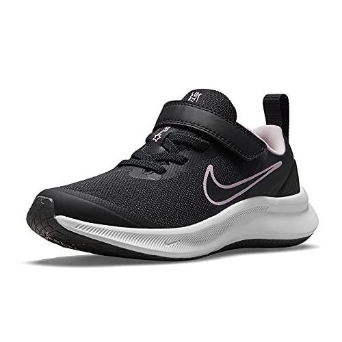 Nike Star Runner 3, Zapatos de Tenis Unisex niños, Black Black Dk Smoke Grey, 33 EU