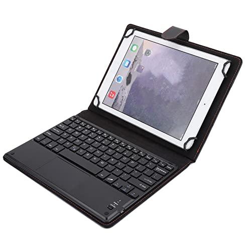 Niiyen Teclado Bluetooth con Panel táctil, 9,7'- 10' Teclado Universal inalámbrico Bluetooth táctil con Funda de Cuero, 100 Horas de Trabajo, con Funda Protectora para Tablet PC de 9,7 a 10 Pulgadas