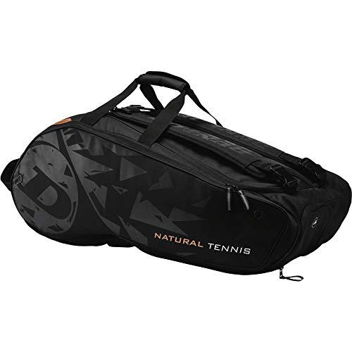 Dunlop Unisex_Adult Revolution NT 12-Racket Bag Sports Duffels, Black, 10-12 Tennisschläger