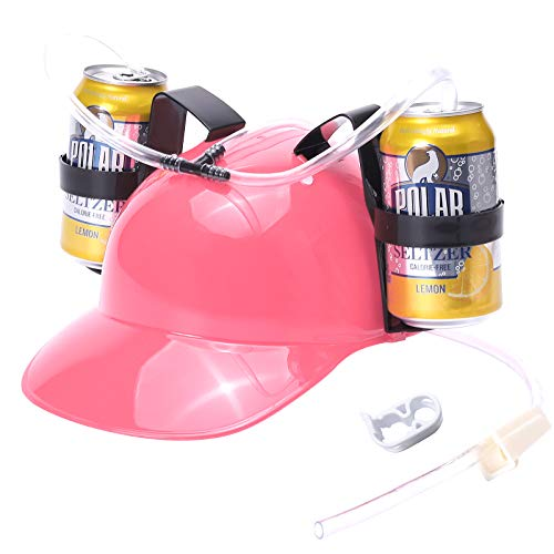 SMOQIO Beer Hat, Beer Helmet for Drinking Beer and...
