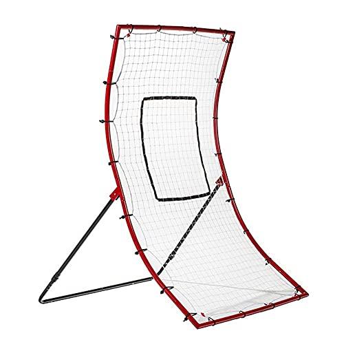 MU Baseball Throw Rebound Net, Heavy Softball Hockey Throwing e Catching Reborser Hine Solo Practice Pract Brocca Auxiliare Attrezzature per la Formazione Ausiliaria