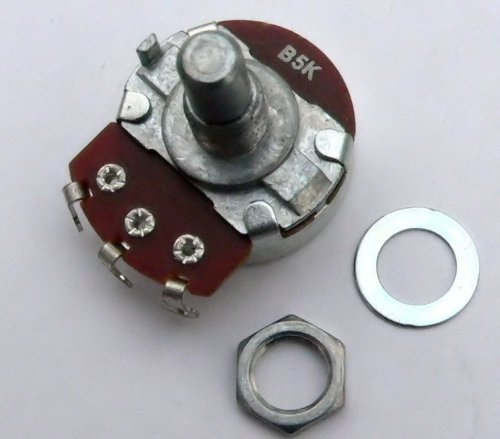 Jellyfish Audio B5K 5K LIN lineal, 24mm para válvula de Marshall y...
