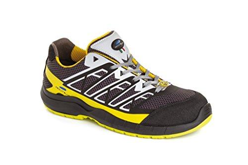 Aboutblu 5034900la 49Estoril Low S1P Zapatos de Trabajo, tamaño 49, Amarillo