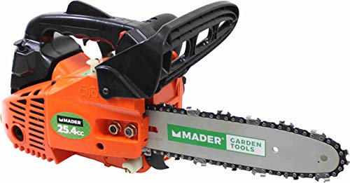 Mader Garden Tools 49205 Motosierra 25.4CC 250mm Carburador Japones Walbro-49205