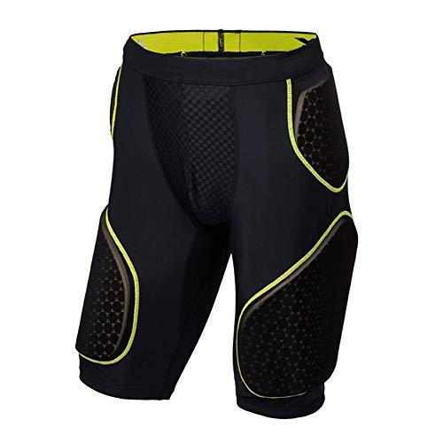 Pantaloni Hip Protector Figli Adulti Imbottiti Pantaloncini Protettivi Butt Guardia Protezione degli...