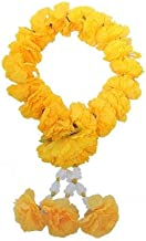 wonderflowers Artificial Yellow Marigold Garland For Make A Wish