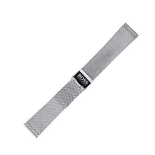 Hugo Boss Uhrenarmband 20mm Edelstahl Silber - 659002531