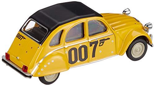 """° Schuco 452016600 Citroën 2cv /""""007/"""" amarillo escala 1:64 coche modelo nuevo"""